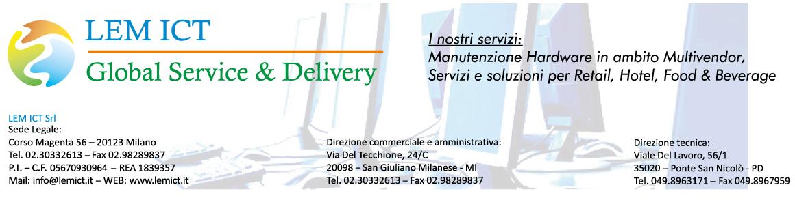 LEM ICT – GLOBAL SERVICE & DELIVERY