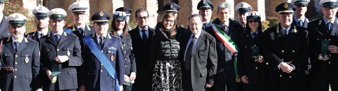 Alla Festa della Polizia locale, Regione Lombardia ha premiato 26 agenti